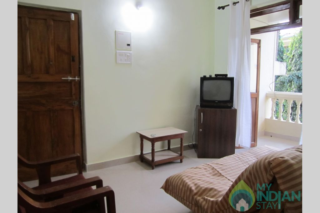 Bedroom in a Resort in Calangute, Goa