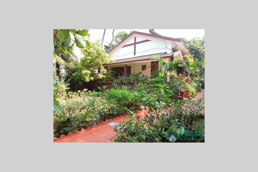 Exterior view in a Guest House in Vagator, Goa
