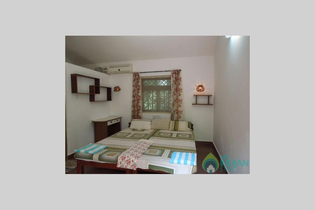 Bedroom in a Guest House in Vagator, Goa