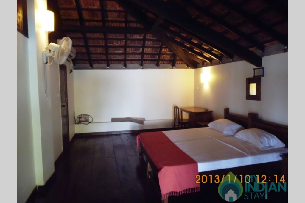 The Upper Bedrooms in a House in North Goa, Goa