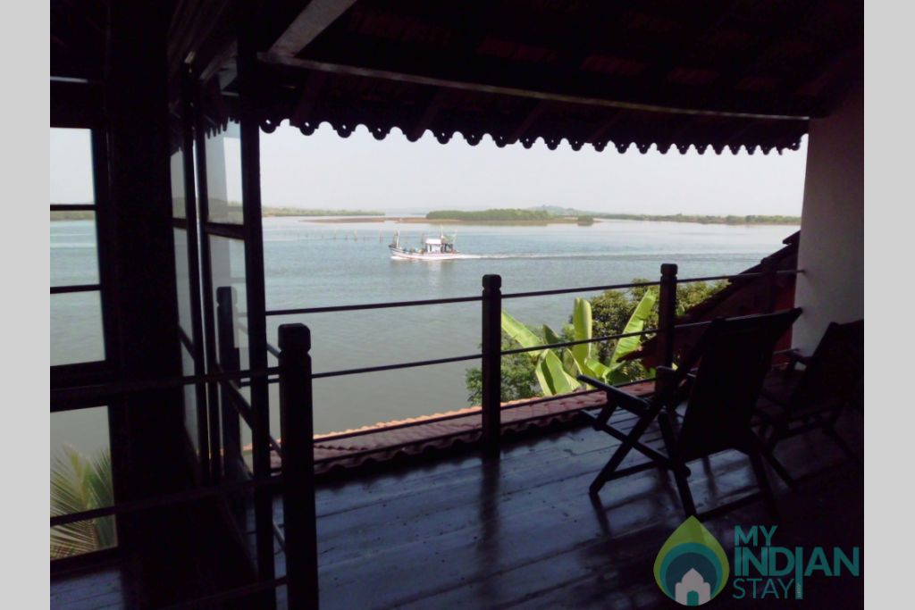 View of the Mandovi in a House in North Goa, Goa