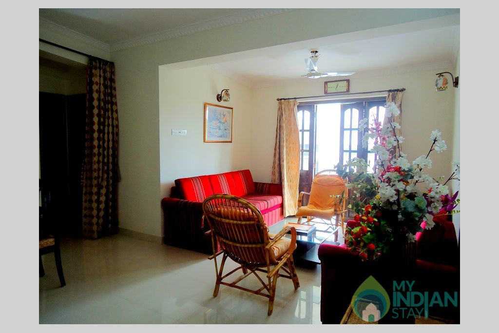 2 in a Self Catered Apartment in Candolim, Goa
