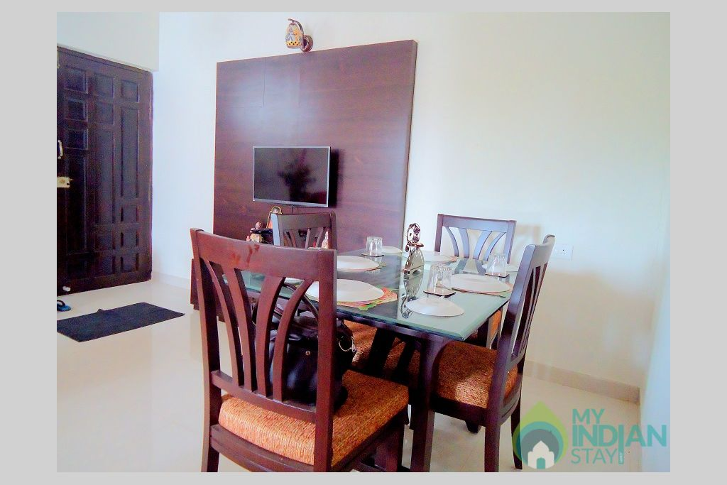 10 in a Self Catered Apartment in Candolim, Goa