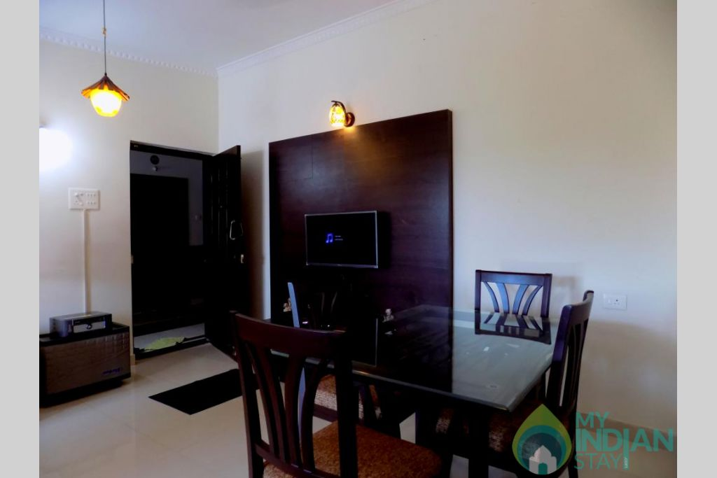 11 in a Self Catered Apartment in Candolim, Goa