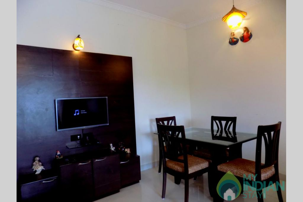 12 in a Self Catered Apartment in Candolim, Goa