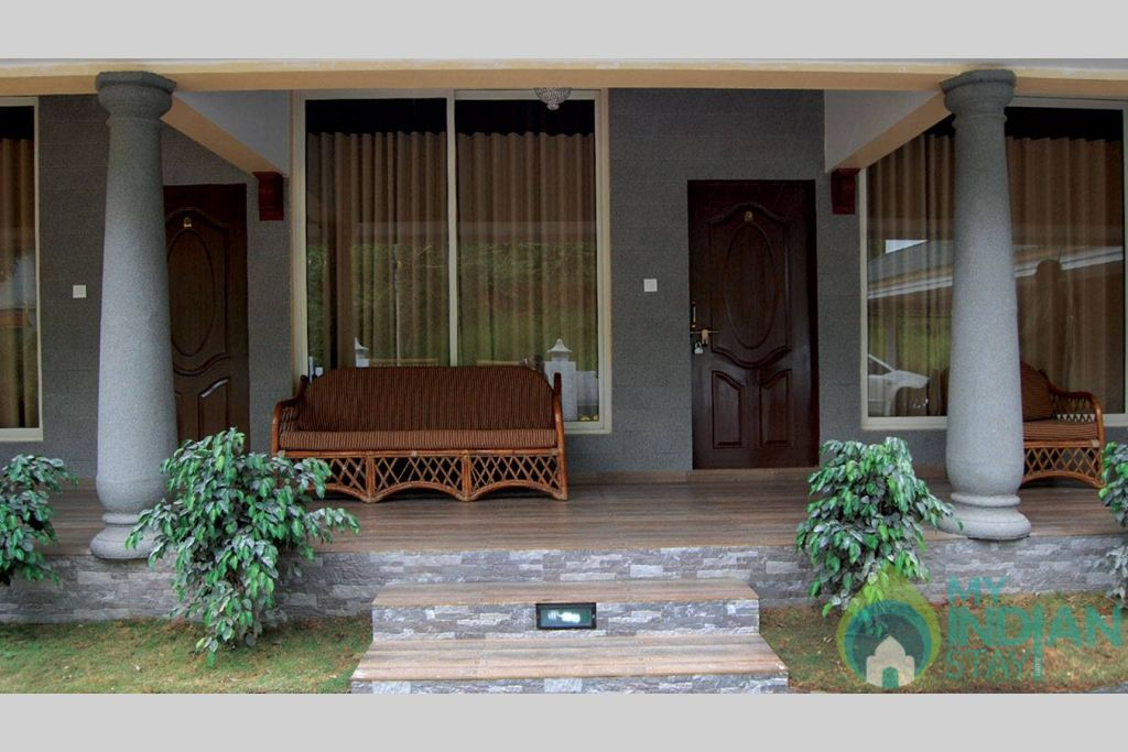 Front Enterance in a HomeStay in Munnar, Kerala