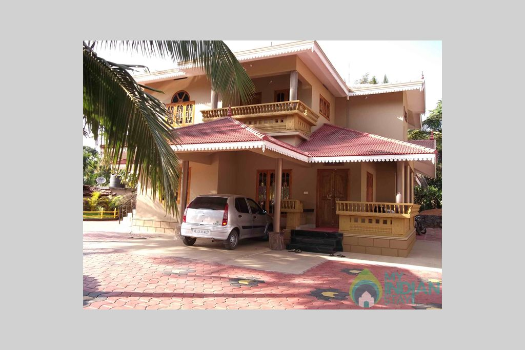 Front view of Homestay in a HomeStay in Padinjarathara, Kerala