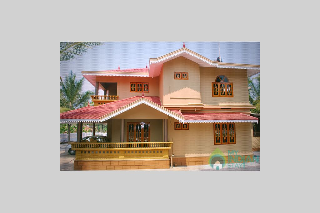Front View in a HomeStay in Padinjarathara, Kerala