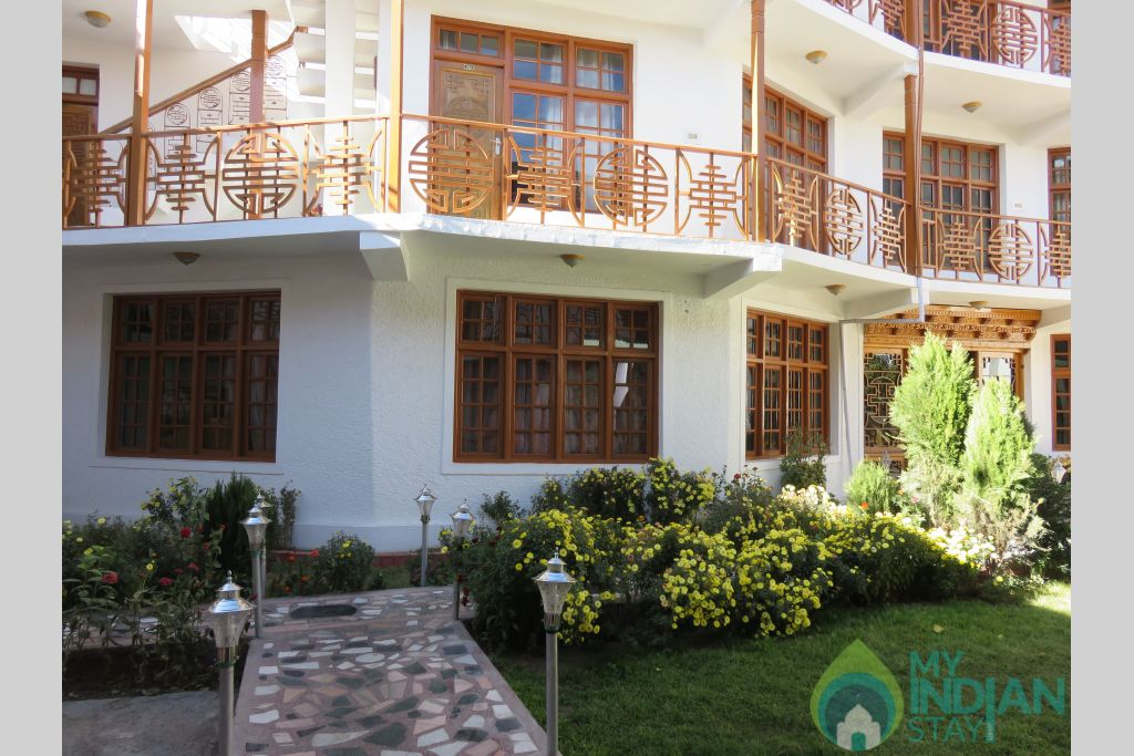 Front View  in a Hotel in Leh, Jammu and Kashmir