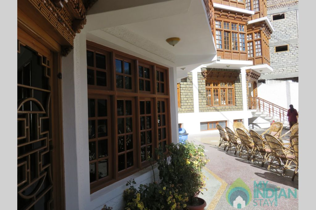 Side View in a Hotel in Leh, Jammu and Kashmir