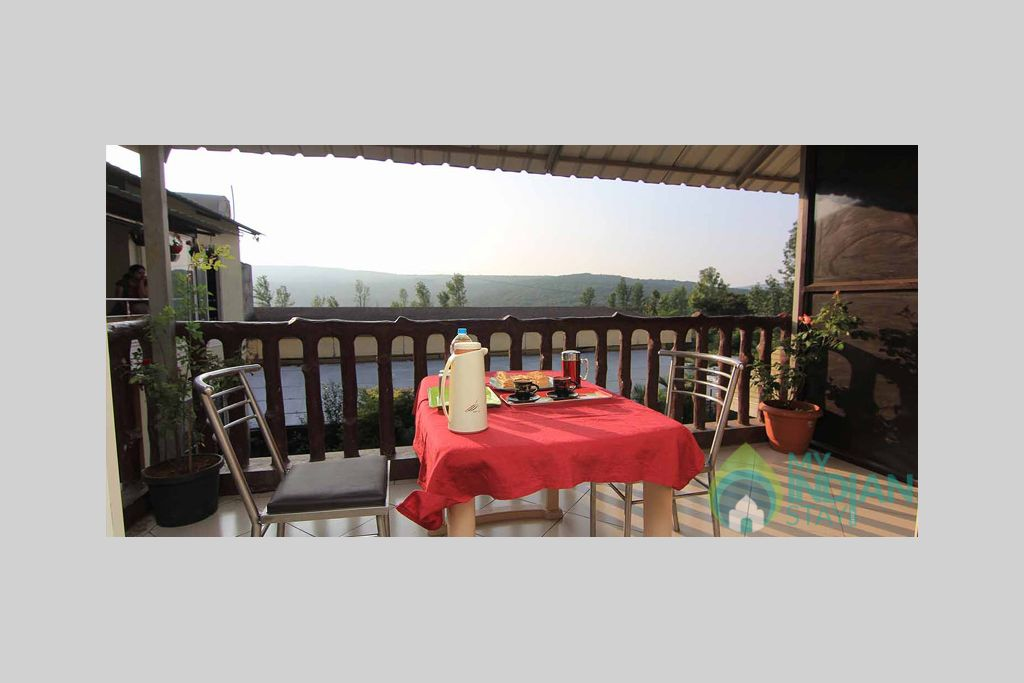 Dinning Area in a Independent Bungalow in Mahabaleshwar, Maharashtra