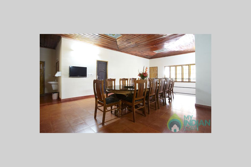 Dinning Area in a HomeStay in Munnar, Kerala