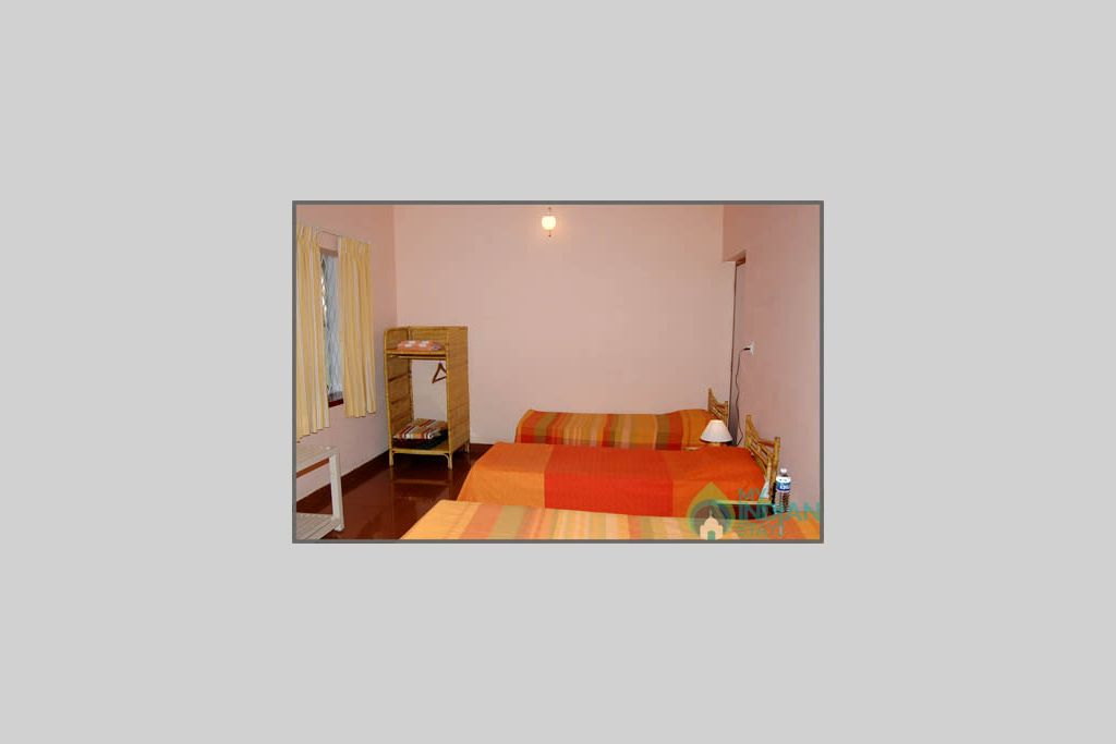 bedrooms in a HomeStay in Chikmagalur, Karnataka