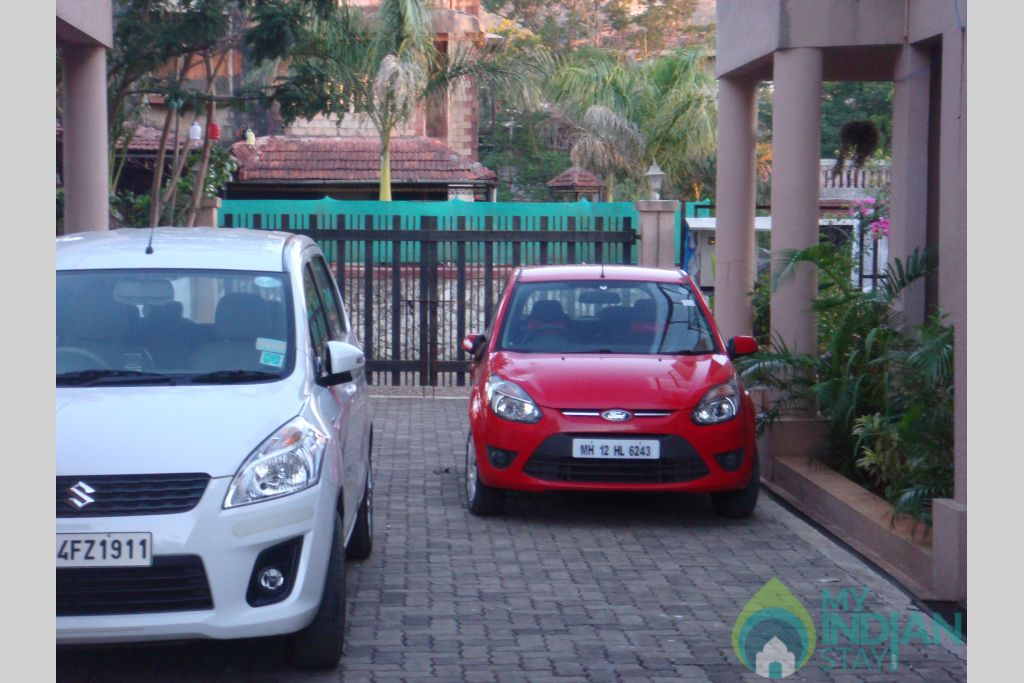 Copy of parking in a Villa in Lonavala, Maharashtra
