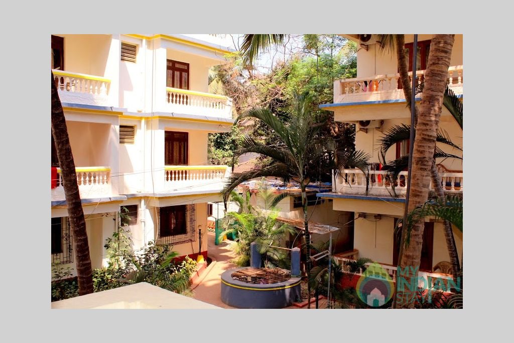 4 in a HomeStay in Calangute, Goa