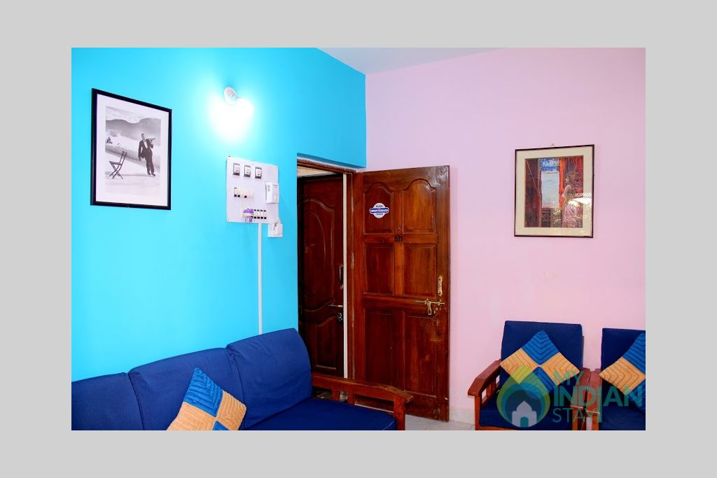 6 in a HomeStay in Calangute, Goa