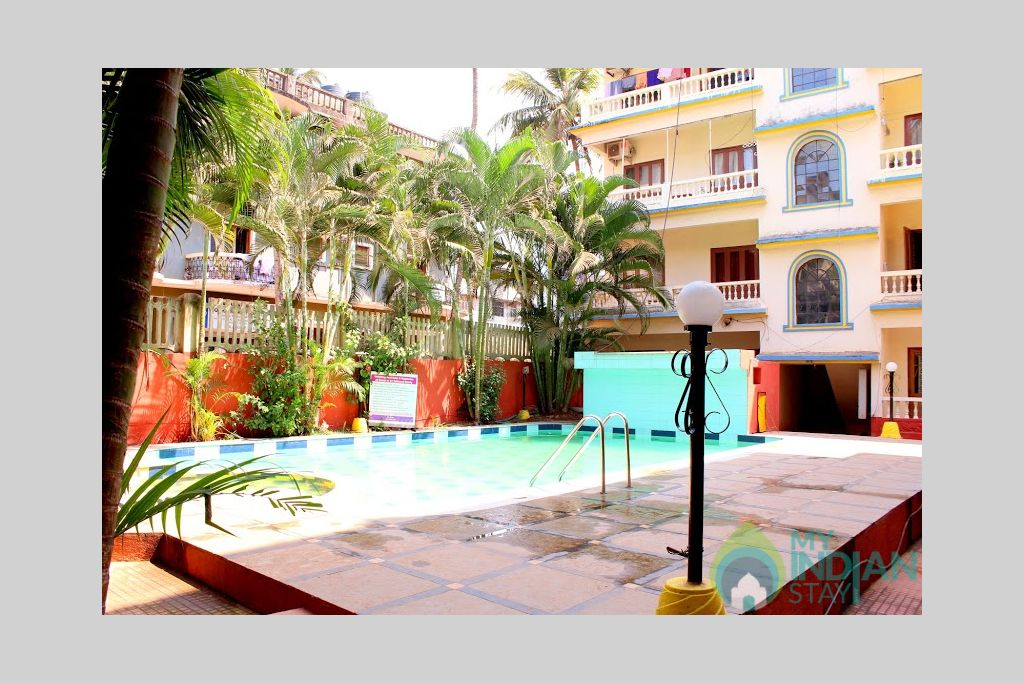 10 in a HomeStay in Calangute, Goa