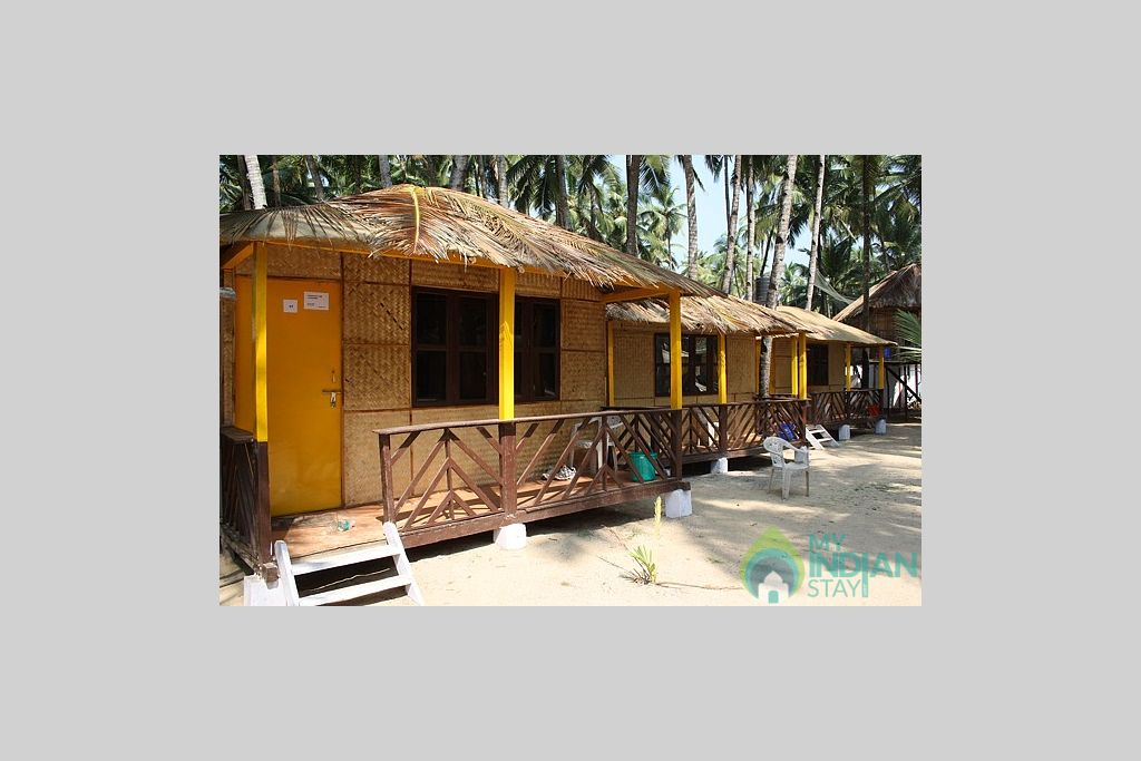 Side view in a Cottage/Huts in Canacona, Goa