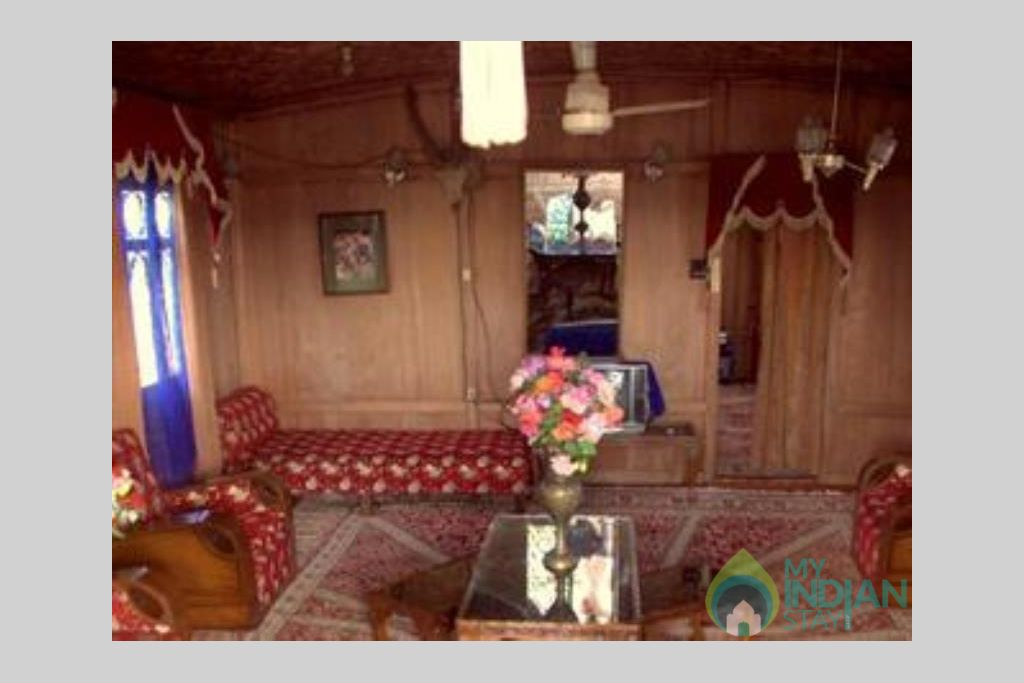 Sitting Area 1 in a Guest House in Srinagar, Jammu and Kashmir