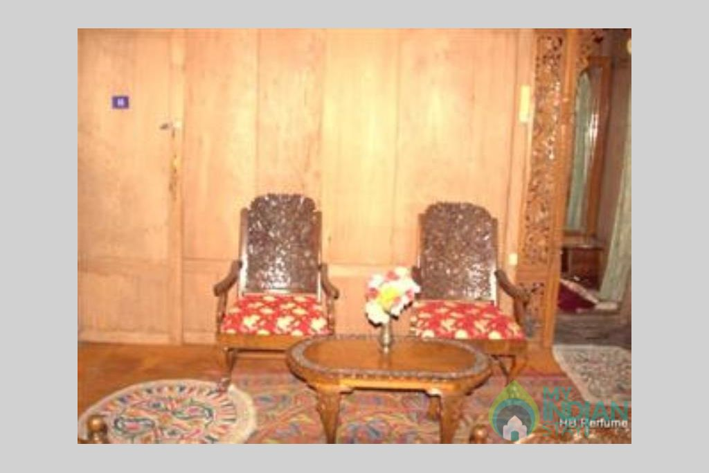 Sitting Area in a Guest House in Srinagar, Jammu and Kashmir