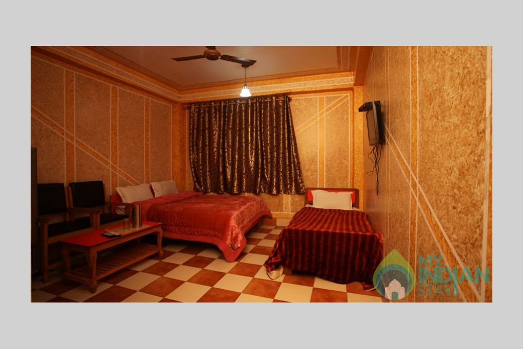 Triple Bed Room 1 in a Bed & Breakfast in Srinagar, Jammu and Kashmir
