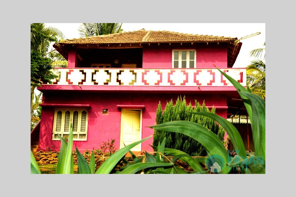 Joes- Front View in a HomeStay in Chikmagalur, Karnataka