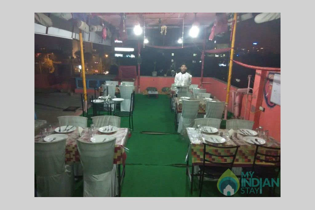 Restaurant in a Guest House in Jaipur, Rajasthan