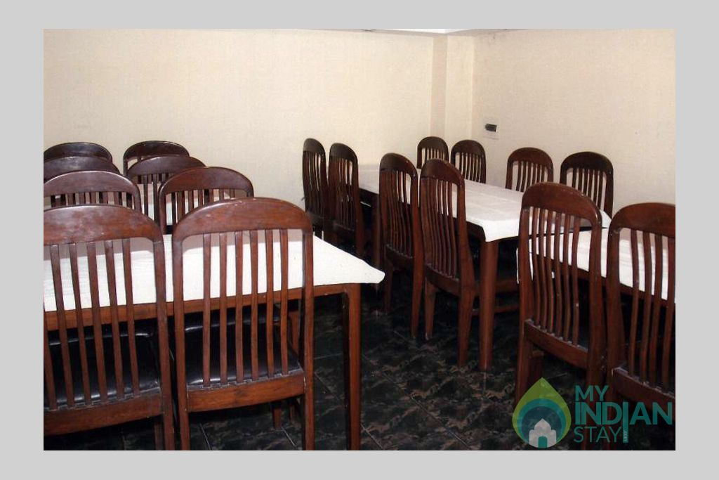 Dining area in a Guest House in Shimla, Himachal Pradesh
