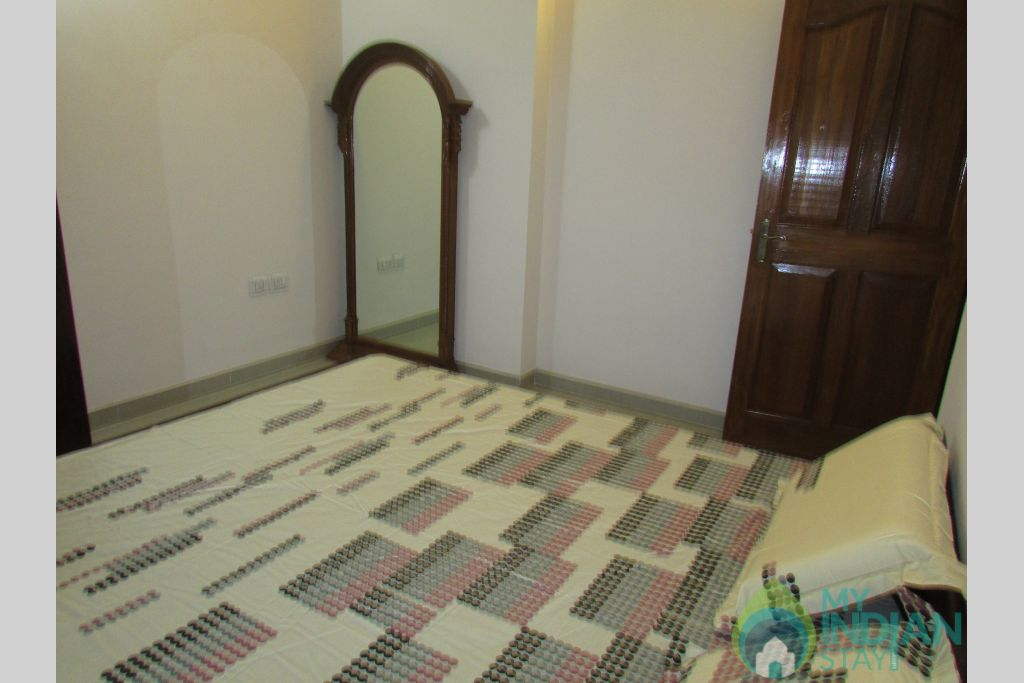 Bedroom 2 in a Serviced Apartment in Siolim, Goa