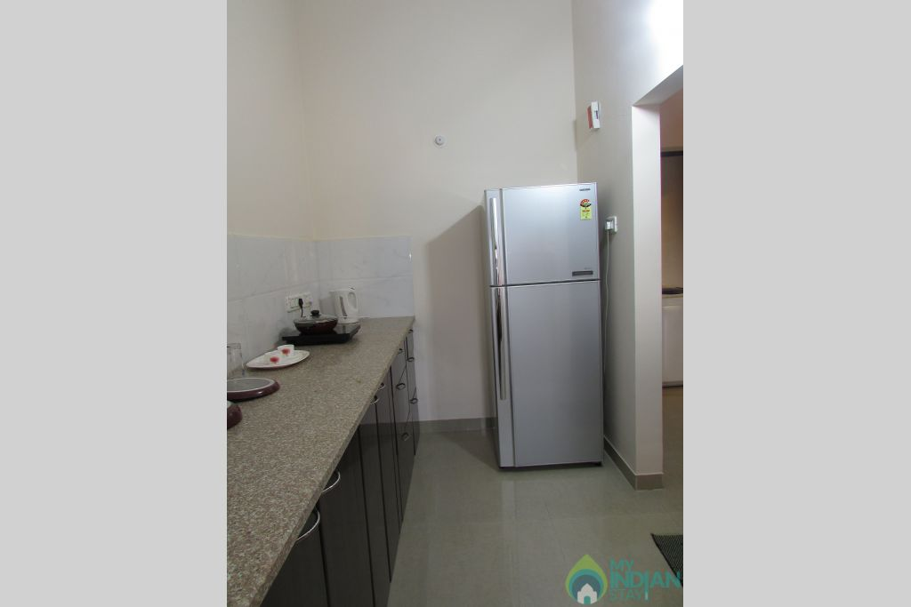 Kitchen 2  in a Serviced Apartment in Siolim, Goa