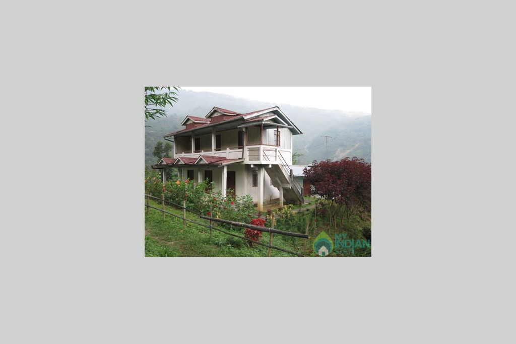Outside view to the Farm in a HomeStay in Darjeeling, West Bengal
