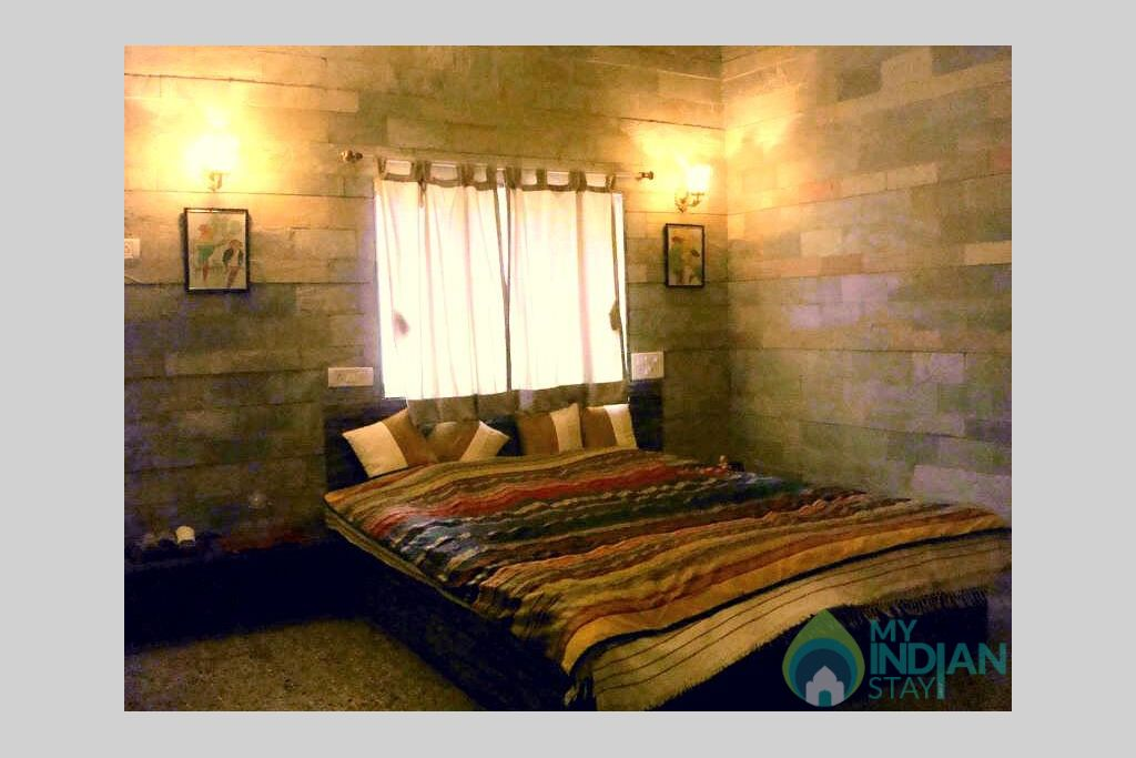 Bed Room in a HomeStay in Lonavala, Maharashtra