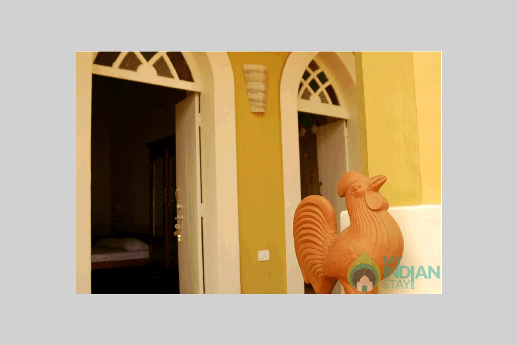 Gallery in a Bed & Breakfast in Panjim, Goa
