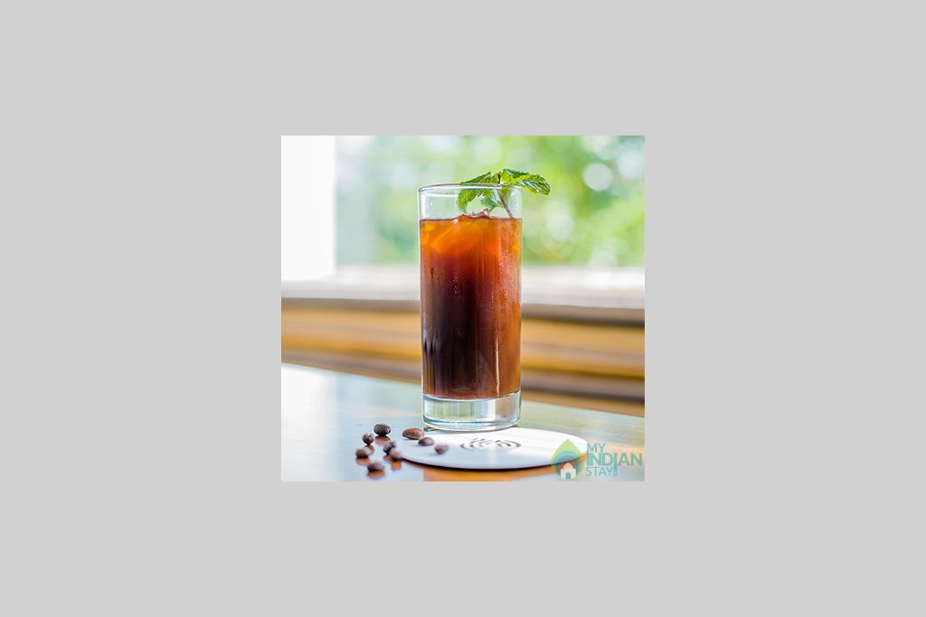 coffee-inspired-cocktail-at-serai-chikmagalur in a Guest House in Chickmagaluru, Karnataka