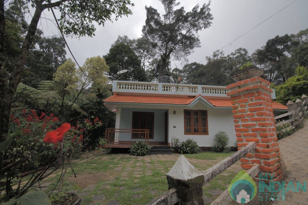 Front View in a Villa in Munnar, Kerala