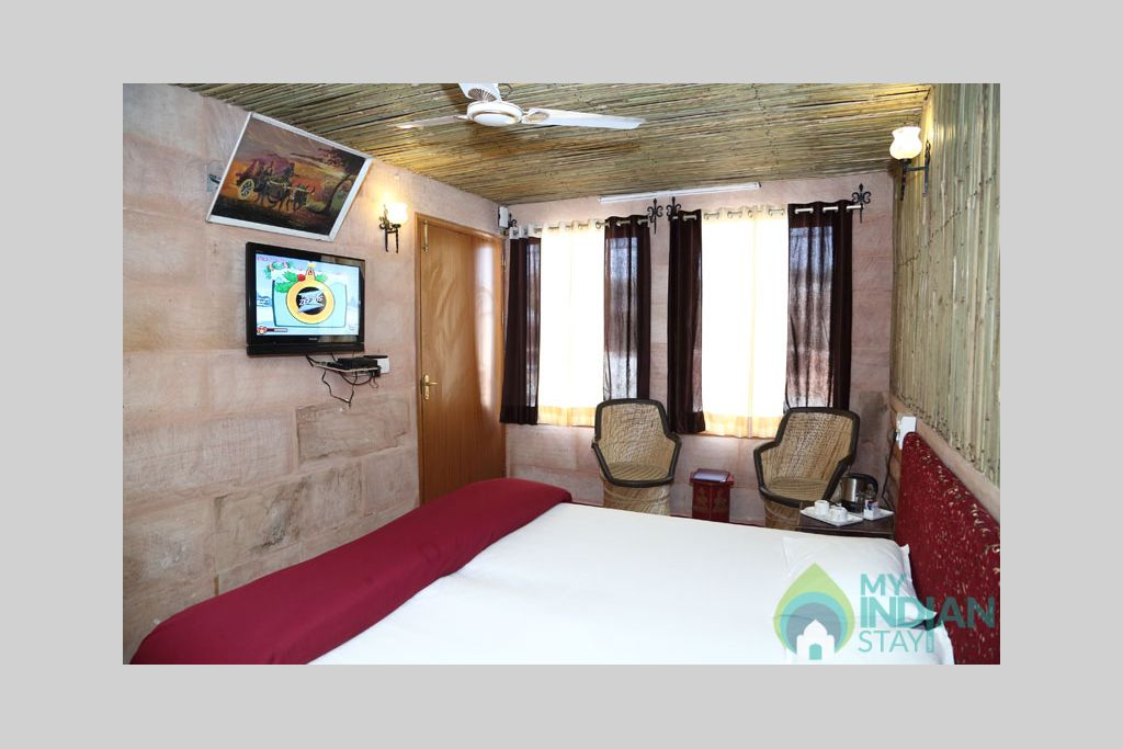 Palace-View-Room-1 in a Bed & Breakfast in Jodhpur, Rajasthan
