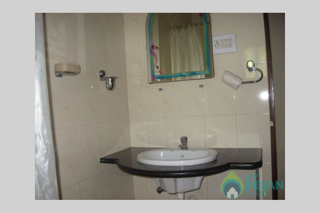 a in a Serviced Apartment in Calangute, Goa