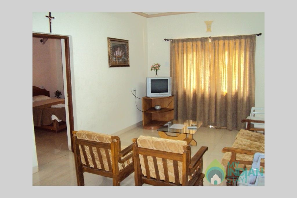 aa in a Serviced Apartment in Calangute, Goa