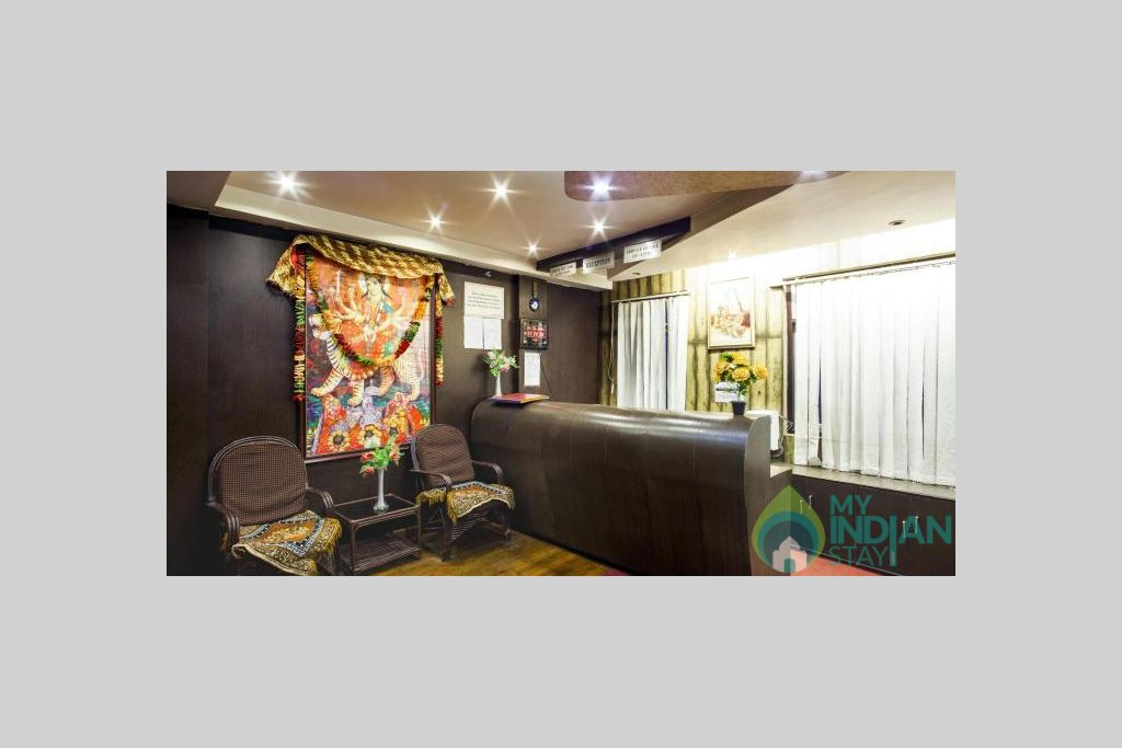 RECEPTION AND LOBBY 1 in a Hotel in Darjeeling, West Bengal