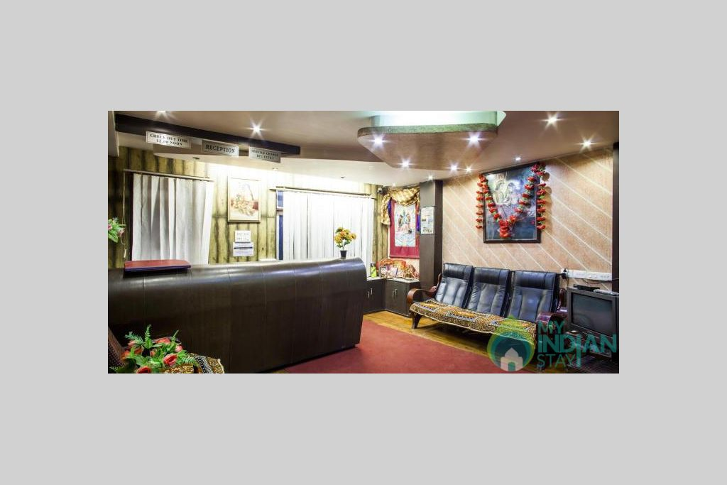 RECEPTION AND LOBBY in a Hotel in Darjeeling, West Bengal