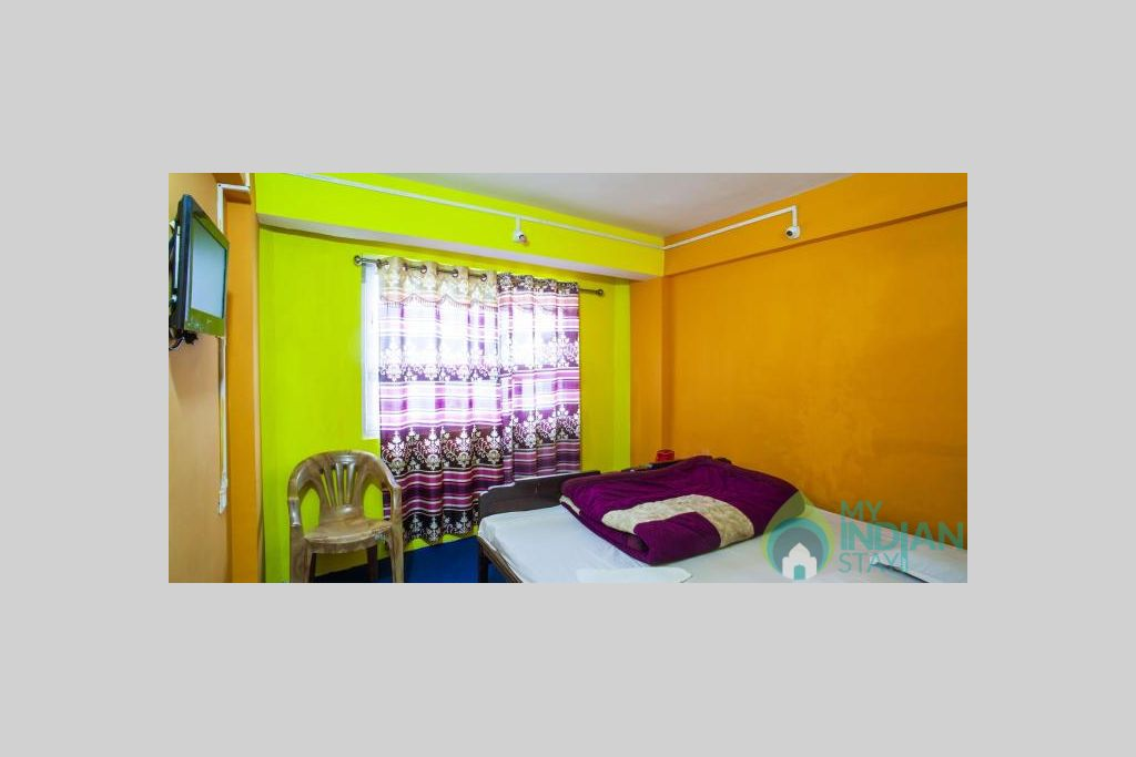 DOUBLE BED ROOM in a Hotel in Darjeeling, West Bengal