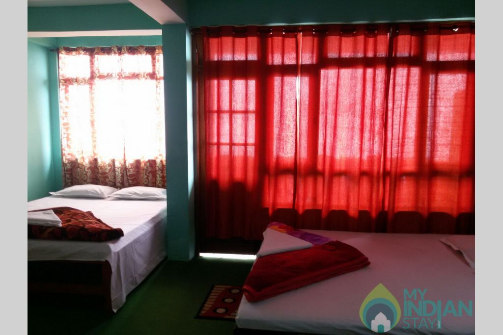 FOUR BEDDED ROOM in a Hotel in Darjeeling, West Bengal