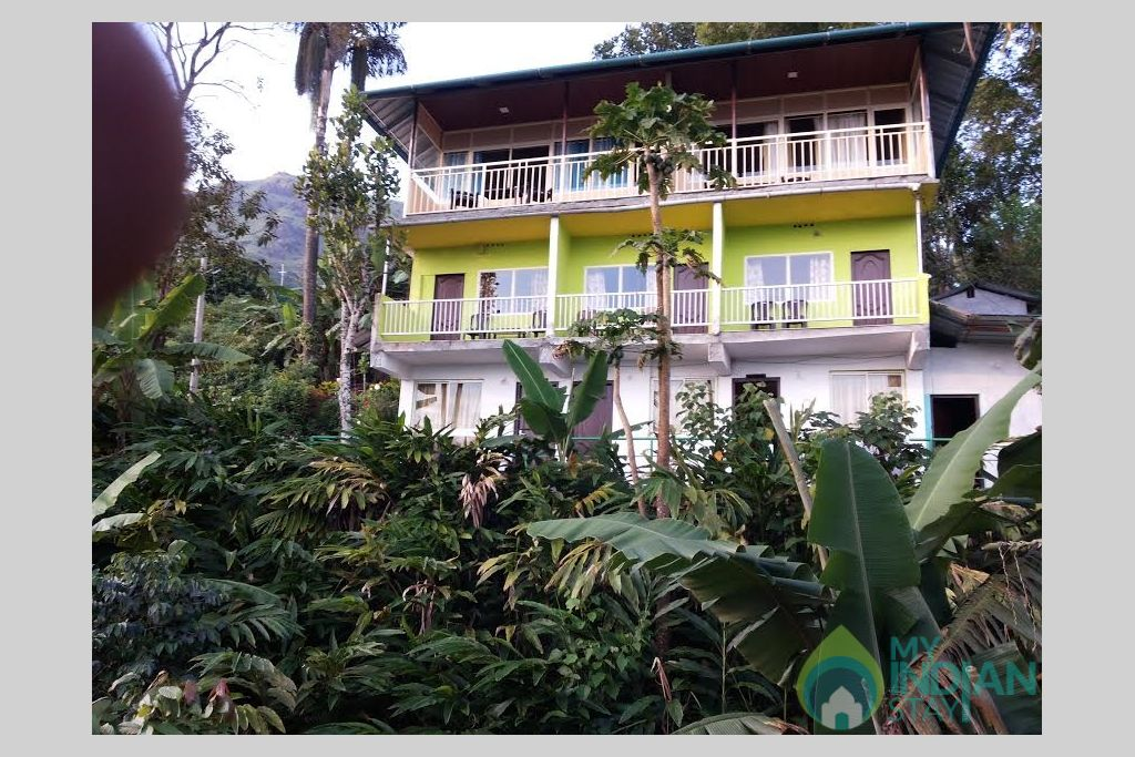 outer view in a Villa in Munnar, Kerala