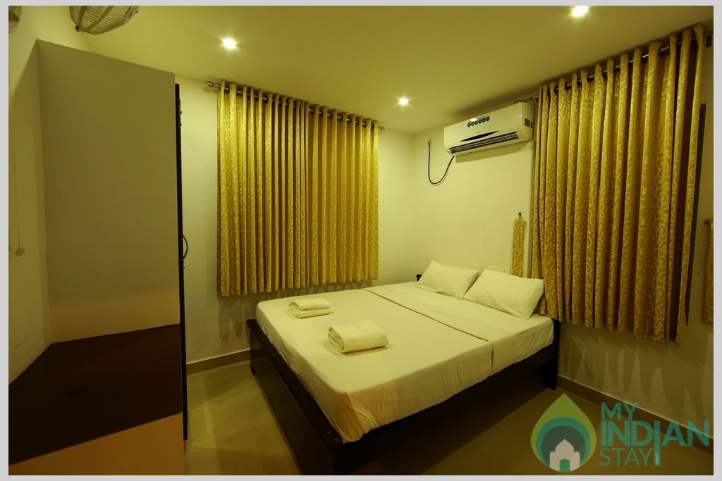 apartment Bed room -1 in a Serviced Apartment in Angamaly, Kerala