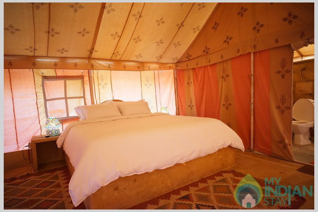 campMoonTent in a Tents in Jaisalmer, Rajasthan