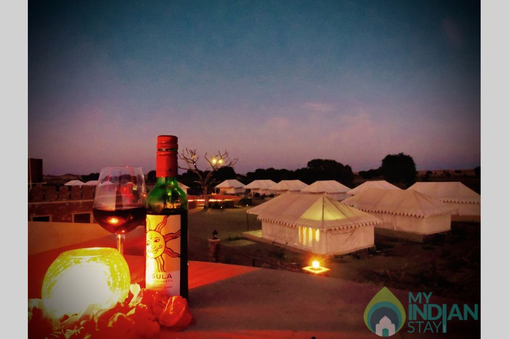 download in a Tents in Jaisalmer, Rajasthan