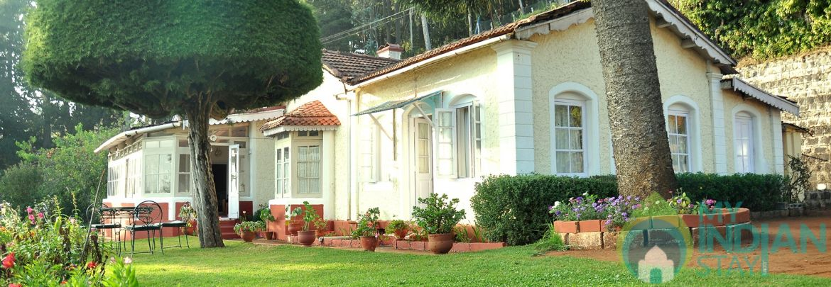 Rooms In A Heritage Colonial Bungalow In Ooty