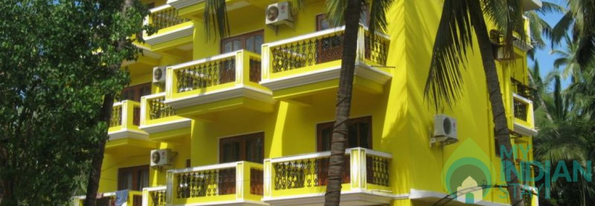 Luxurious Self Service AC Apartment In Calangute