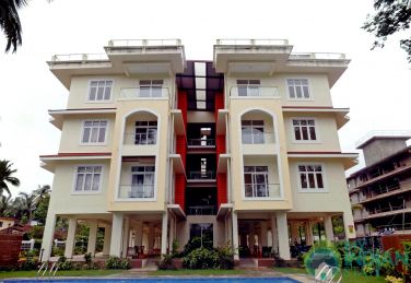 Luxury Apt in Candolim with Swimming Pool CM084
