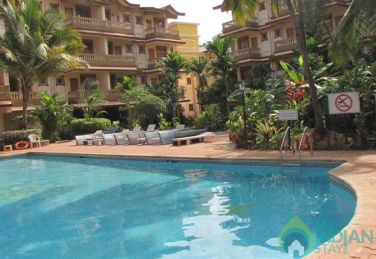 2 BHK Apartments With pool at Candolim beach
